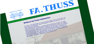 Fa. Thuss website